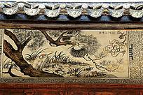 福禄寿墙画