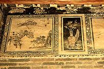 古建筑墙画