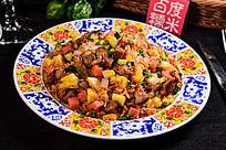 金菠萝猪扒粒炒饭