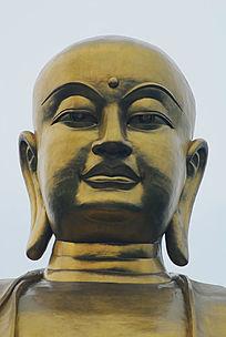 九华山99米地藏菩萨铜像高清头像