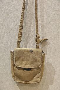 抗战时期马本斎的背包