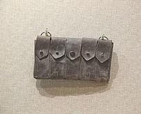 抗战时期马本斎的子弹袋
