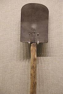 抗战时期民兵使用的铲子