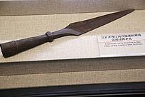 抗战时期民兵使用的矛头