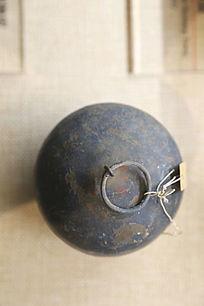 抗战时期民兵使用的铁地雷