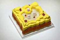 小鸭子蛋糕