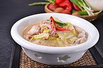 白菜炖目鱼