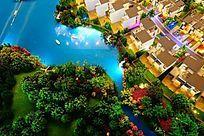 别墅园林沙盘模型