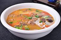 番茄面疙瘩牛腩汤