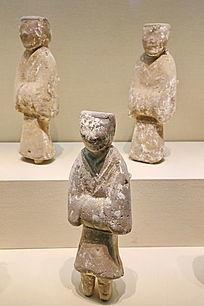 汉朝刘胜墓陶俑图片