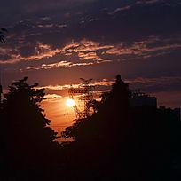 黄昏日落风景