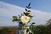 一场婚礼剩下的花