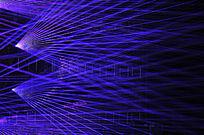 紫色激光效果