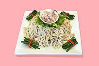 海鲜炒豆皮