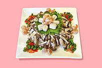 海鲜炒蟹味菇