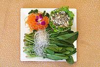 牡蛎菠菜粉丝汤
