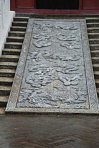 古代建筑云龙石雕
