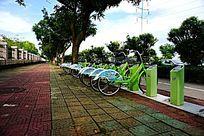 环保自行车站