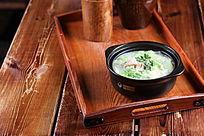 砂锅猪肉白菜粉