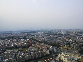 厦门城市鸟瞰图