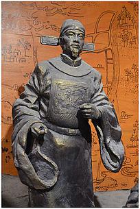 白英人物雕塑