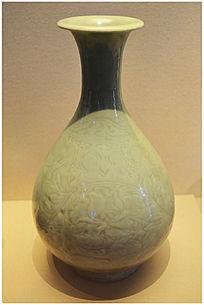 北宋定窑白釉玉壶春瓶
