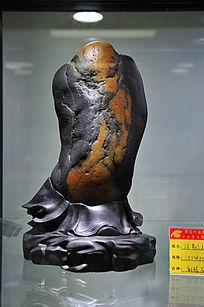 彩蜡石之泼墨仙人石雕件