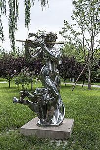 春曲艺术雕塑