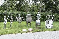 大合奏艺术雕塑