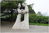 大理石人物雕塑