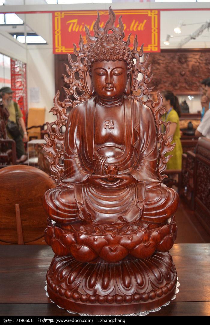 佛祖雕像高清图片下载 编号7196601 红动网