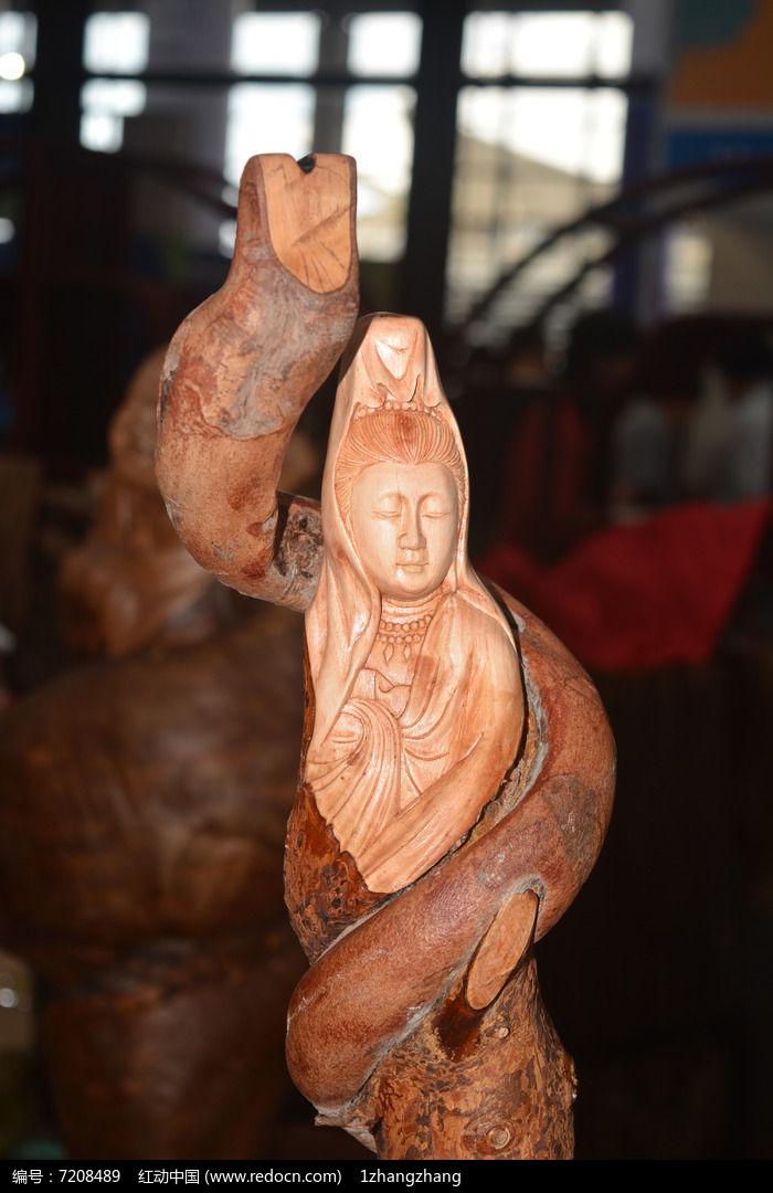 观音创意木雕