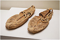 民国时期网线布鞋