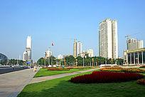 民族广场绿化