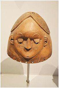 人物雕塑头甲