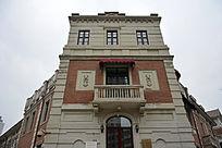 天津意大利风情区的建筑