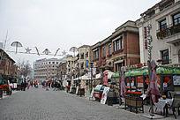 天津意大利风情区的酒吧街