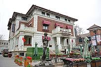 天津意大利风情区的欧陆餐厅