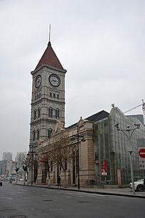 天津意大利风情区的钟楼
