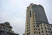 天津意大利风情区中国建设银行大楼