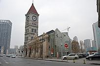 天津意大利风情区钟楼教堂