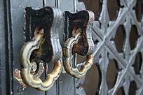 铁艺复古门环