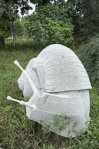 蜗牛艺术雕塑
