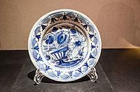 18世纪代尔夫特蓝白陶碟