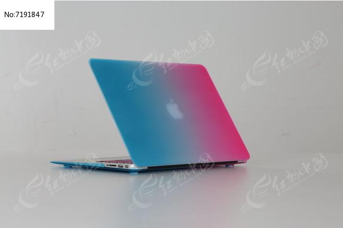 彩色笔记本电脑展开图图片