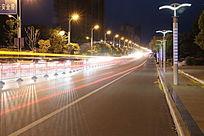 城市交通夜景