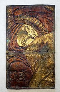 俄式铜版画