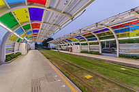 广州有轨电车站