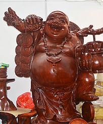 红木佛像雕刻工艺