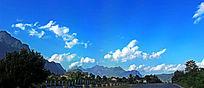 老挝山脉风光